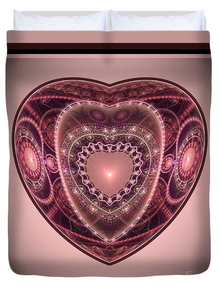 Faberge Heart Duvet Cover