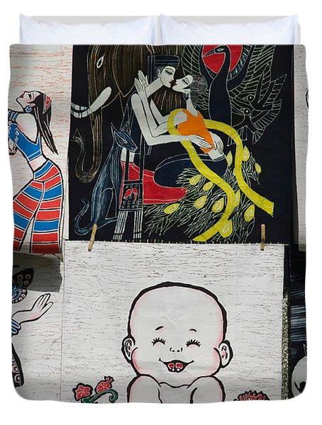 Fabric Items For Sale, Dali, Yunnan Duvet Cover