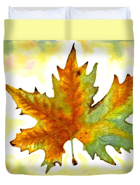 Fabulous Autumn Duvet Cover by Leanne Seymour