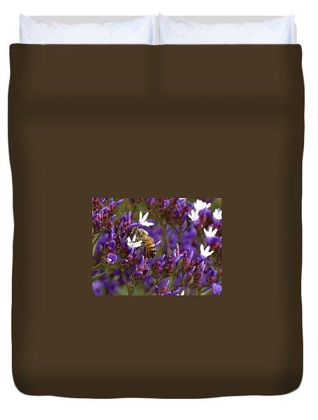 Fabulous Bee II Duvet Cover