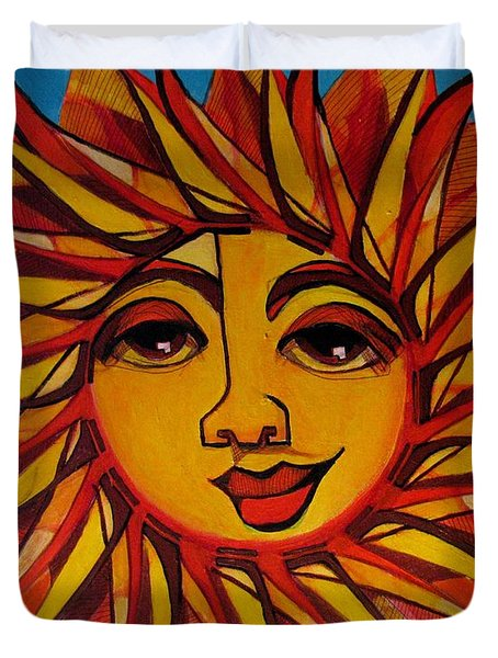 Fabulous Fanny - Here Comes The Sun Duvet Cover