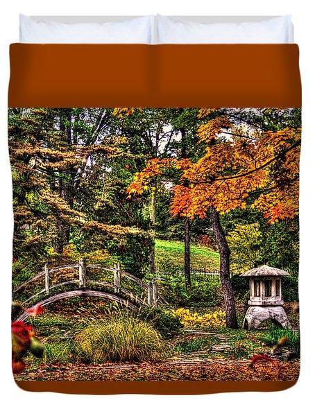 Fabyan Japanese Gardens I Duvet Cover
