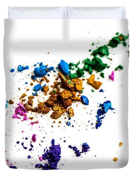 Face Paint Duvet Cover