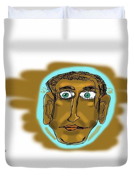 Face Duvet Cover