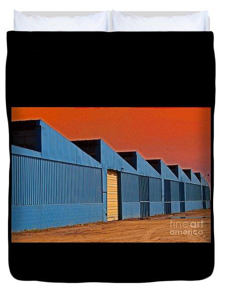 Factory Building Duvet Cover