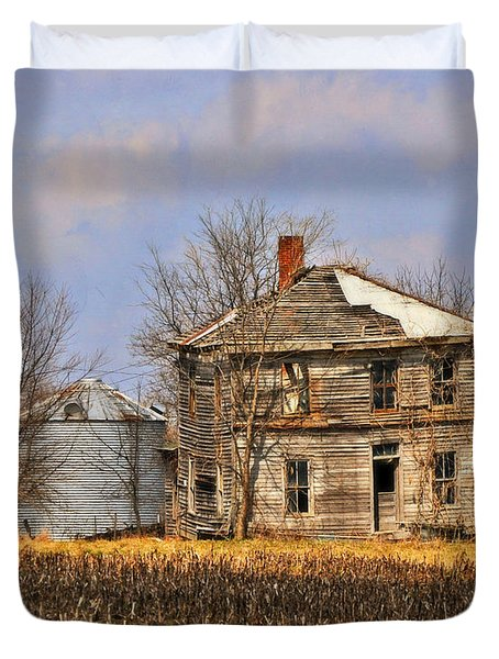 Fading Farm Duvet Cover by Marty Koch