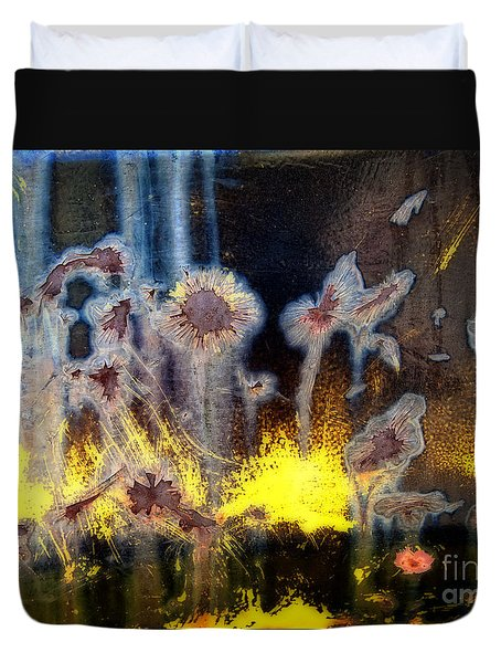 Fae And Fireworks Abstract Duvet Cover