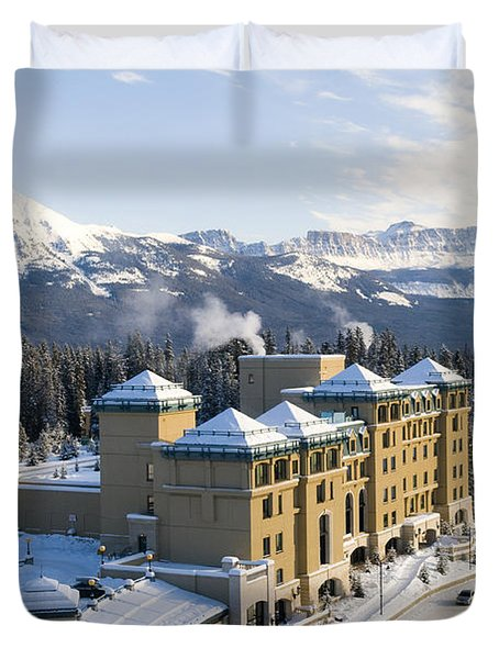 Fairmont Chateau Lake Louise Duvet Cover