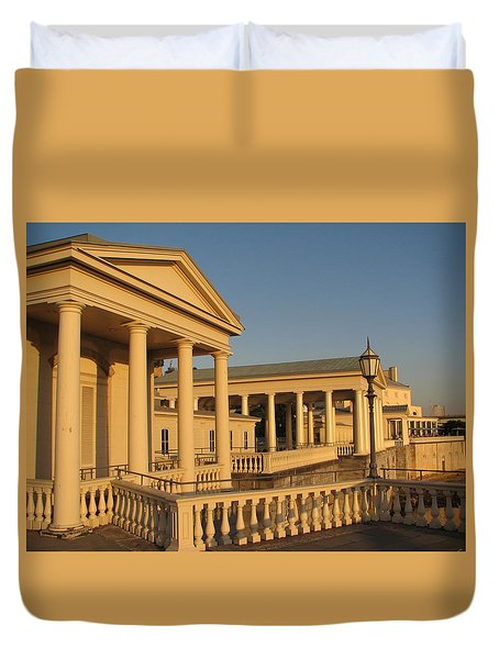 Fairmount Water Works Duvet Cover