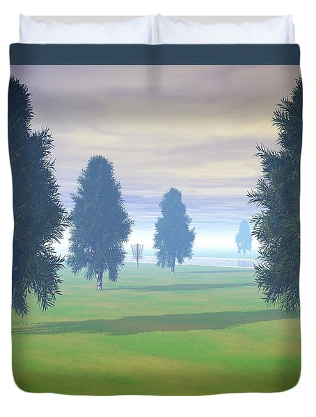 Fairway To Seven Duvet Cover