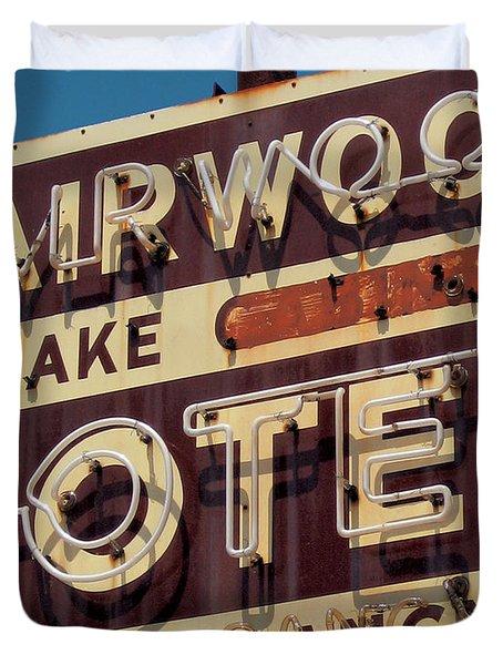 Fairwood Motel Duvet Cover