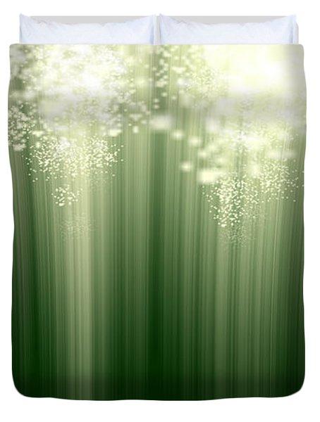 Fairy Grass Duvet Cover