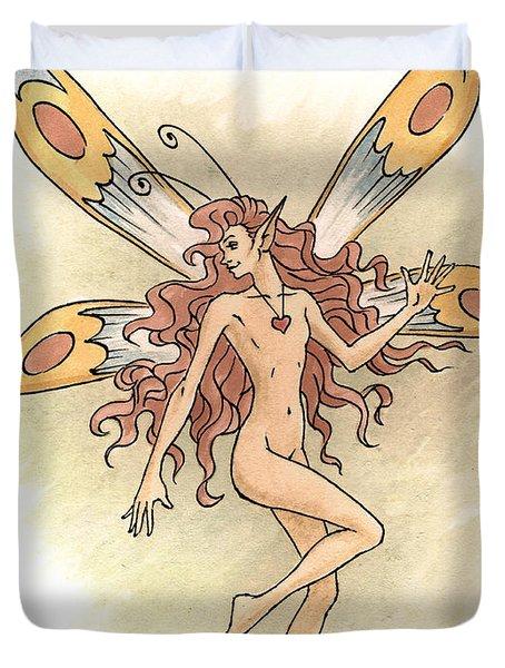 Fairy Love Duvet Cover