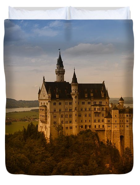 Fairy Tale Castle Duvet Cover