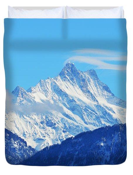 Fairy Tale In Alps Duvet Cover