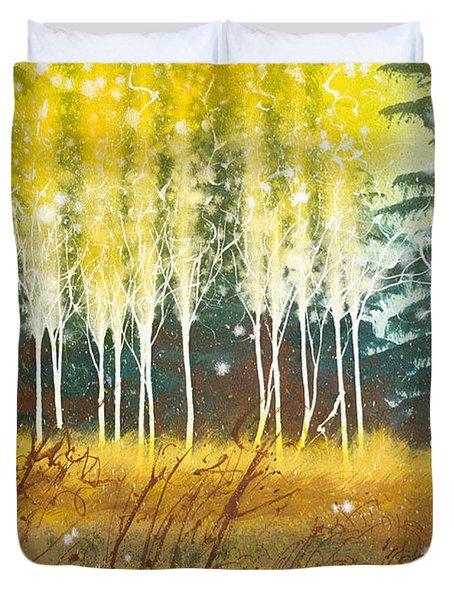 Fairy Trees Duvet Cover