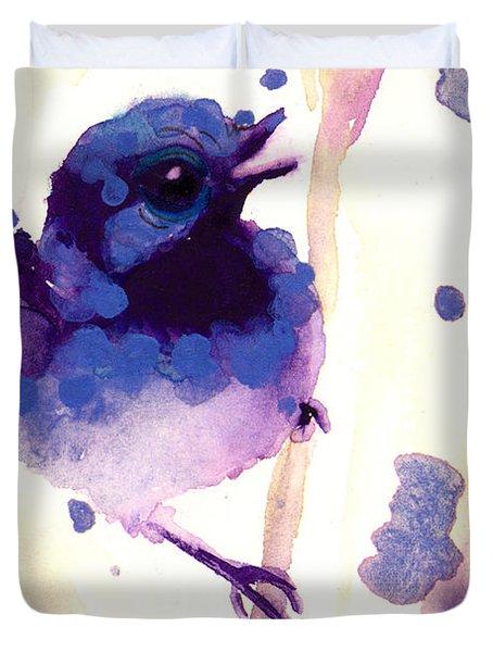 Fairy-wren Duvet Cover