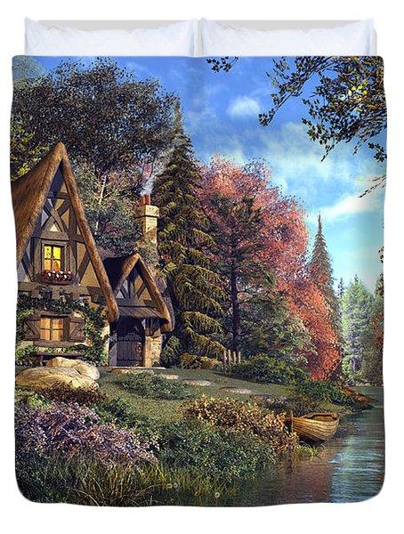 Fairytale Cottage Duvet Cover