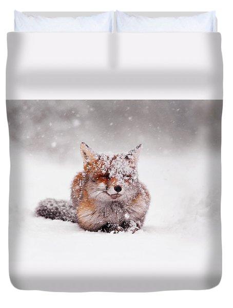 Fairytale Fox II Duvet Cover
