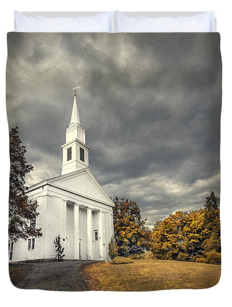 Faith Embrace Duvet Cover