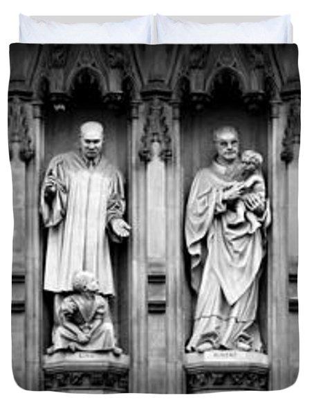 Faithful Witnesses Duvet Cover by Stephen Stookey