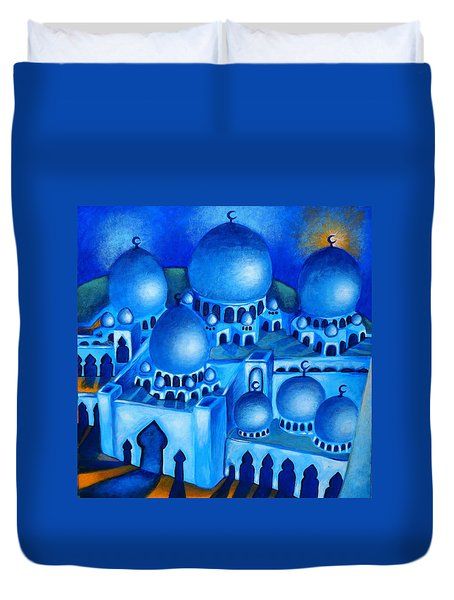 Fajr Prayer Duvet Cover
