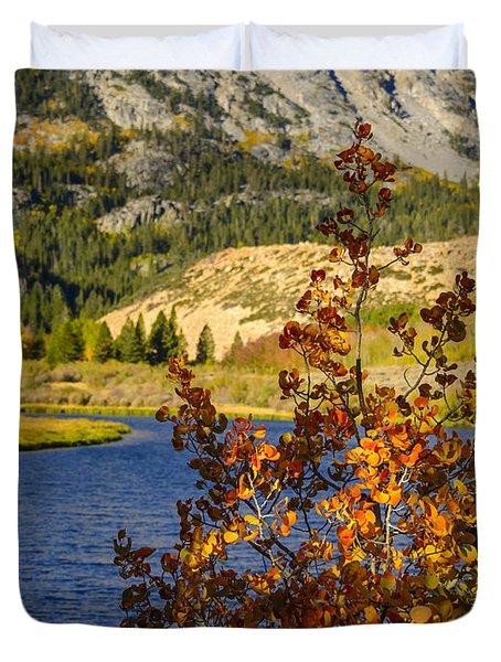 Fall At North Lake Duvet Cover