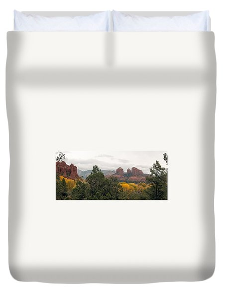 Fall Color Sedona 0495 Duvet Cover