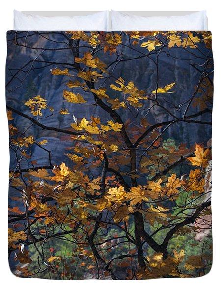West Fork Tapestry Duvet Cover