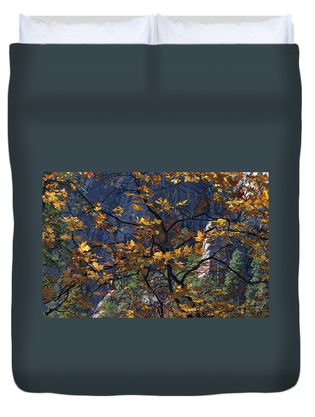 West Fork Tapestry Duvet Cover