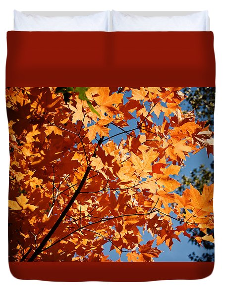 Fall Colors 2 Duvet Cover