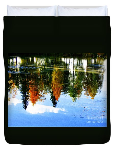 Fall Colors Duvet Cover by Pauli Hyvonen