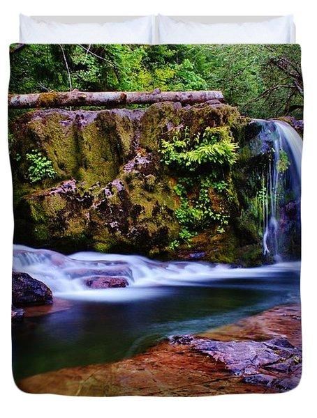 Fall Creek Oregon 3 Duvet Cover
