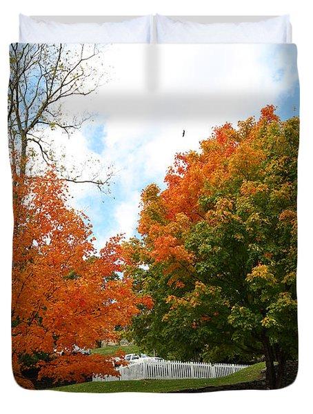Fall Foliage Colors 09 Duvet Cover