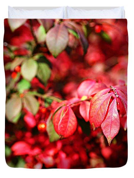 Fall Foliage Colors 10 Duvet Cover