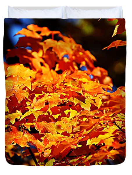 Fall Foliage Colors 16 Duvet Cover