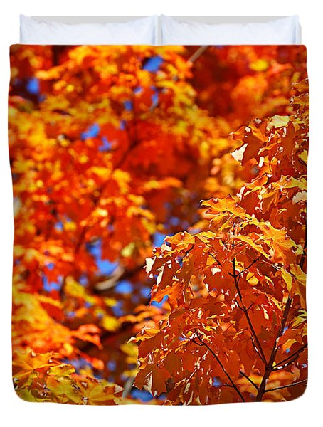 Fall Foliage Colors 17 Duvet Cover