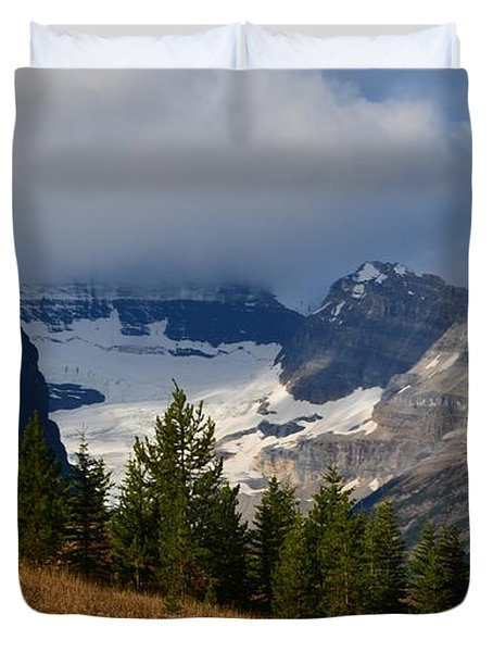 Fall In The Mountains Duvet Cover by Cheryl Miller