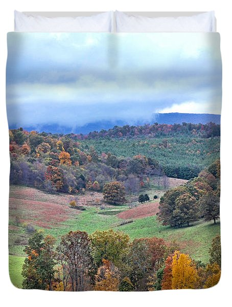 Fall In Virginia Duvet Cover