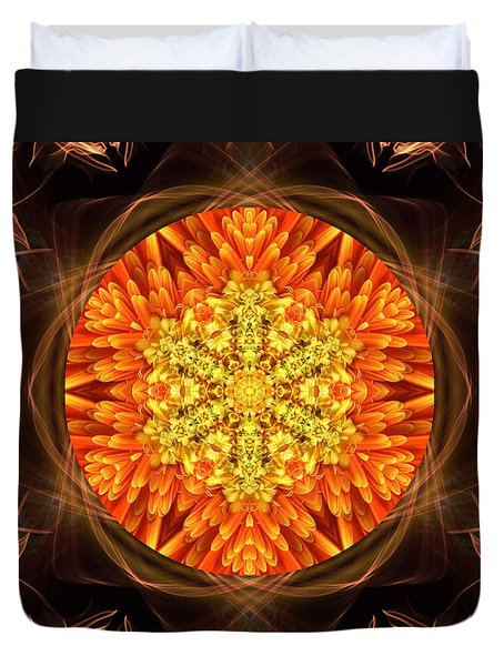 Fall Nature Spirit Duvet Cover