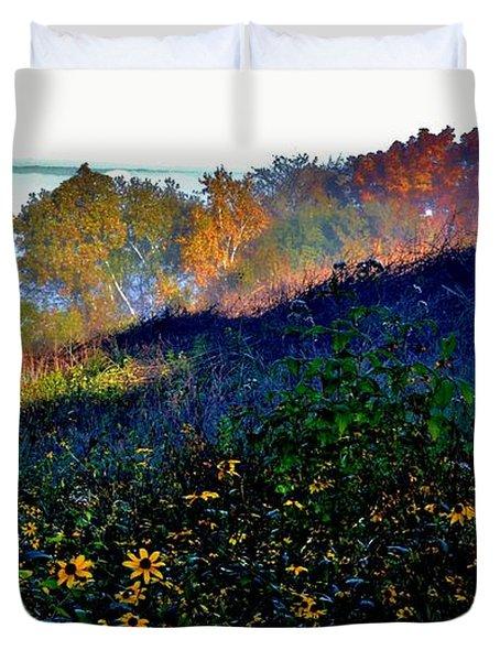 Fall On Garvin Heights Duvet Cover