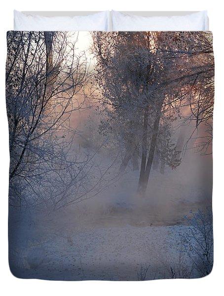 Fall River Steam Duvet Cover