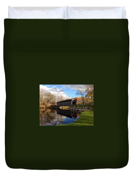 Fallasburg Bridge Duvet Cover