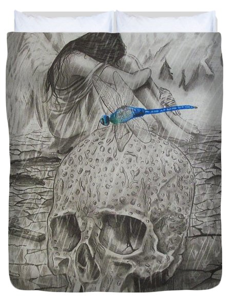 Fallen Duvet Cover by Amber Stanford