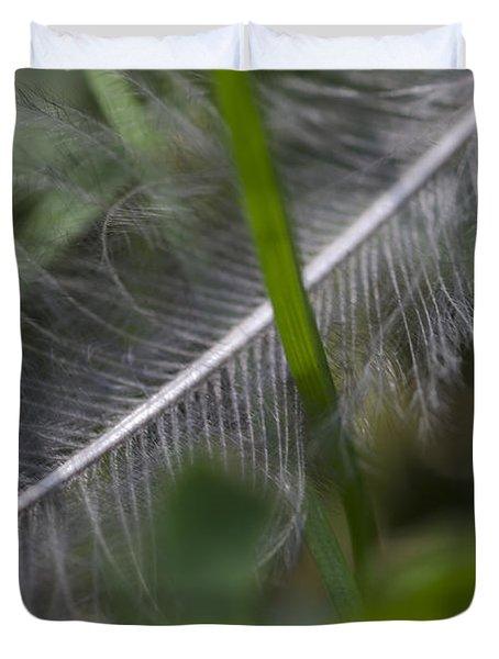 Fallen Feather Duvet Cover