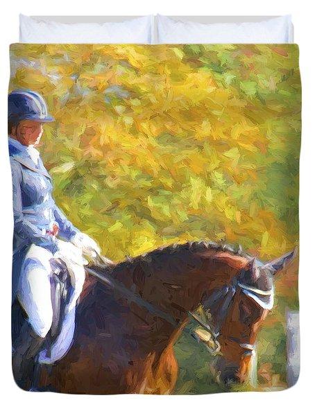 Fallhorse Duvet Cover