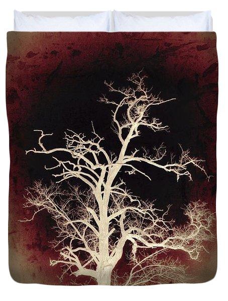 Falling Deeper... Duvet Cover by Marianna Mills
