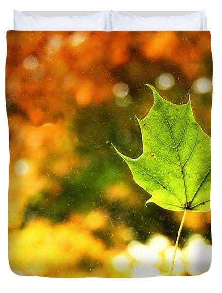 Falling Leaf Duvet Cover