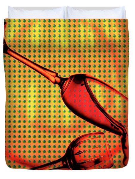 Falling Duvet Cover by Mauro Celotti