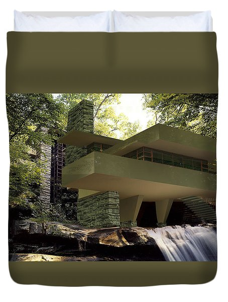 Fallingwaters Duvet Cover